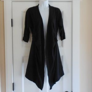$128~LULULEMON~Black Waterfall Cardigan Jacket~4
